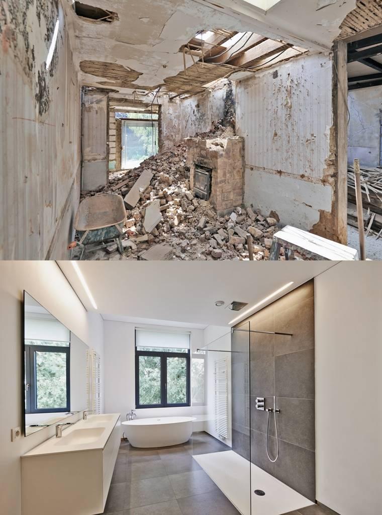 chantier de r novation de plusieurs salles de bain aubagne toulon marseille et aix en. Black Bedroom Furniture Sets. Home Design Ideas