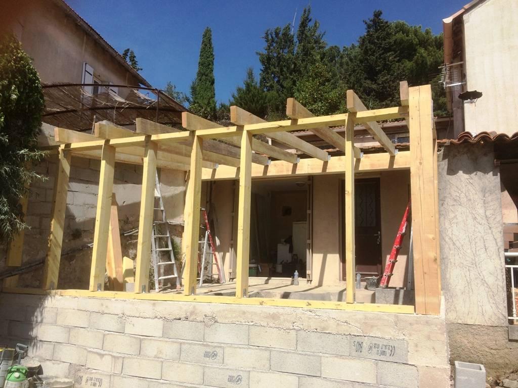 travaux d 39 extension pour une maison marseille pose de cloisons et faux plafond marseille. Black Bedroom Furniture Sets. Home Design Ideas