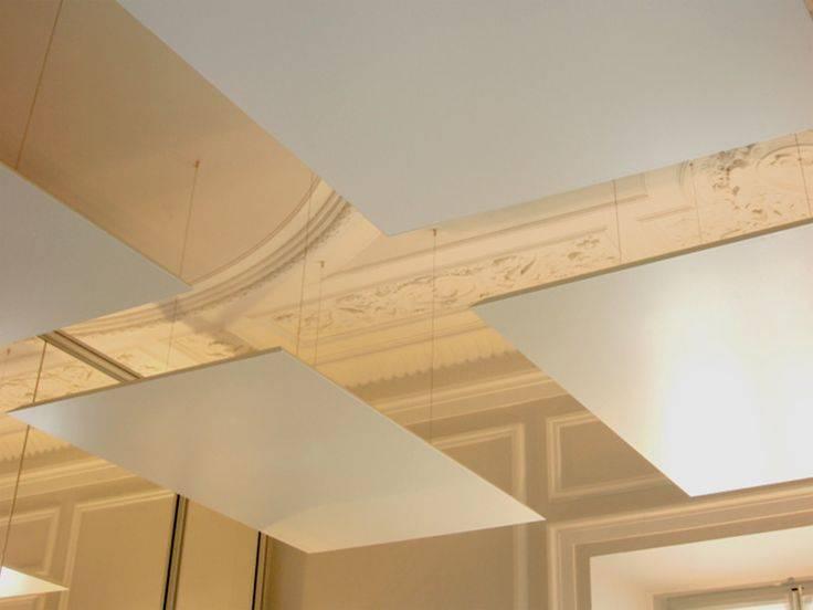Pose d 39 un faux plafond dans maison marseille pose de - Pose d un faux plafond ...