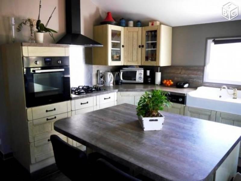 R novation de cuisine villa sur r gion bouches du rh ne pose de cloisons et faux plafond - Cours de cuisine bouches du rhone ...