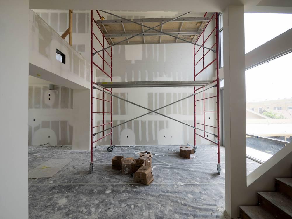pose de cloison dans local professionnel marignane pose de cloisons et faux plafond. Black Bedroom Furniture Sets. Home Design Ideas